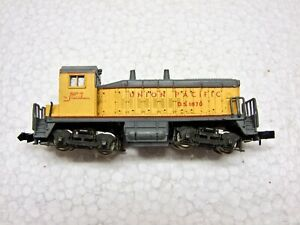N Scale Rivarossi Union Pacific Switcher Engine DS 1870 Made in Italy for Repair