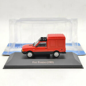IXO 1:43 Fiat Fiorino 1989 Red Diecast Models Car Collection
