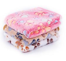 Thicken Warm Blanket Pet Dog Blanket Paw Pattern Cat Dog Mats  40cm*60cm