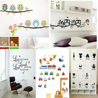 Removable Vinyl Home Room Decor Art Quote Wall Decal Stickers Bedroom Mural