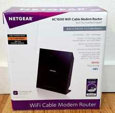 Netgear C6250-100NAS AC1600 16x4 WiFi Cable Modem Router Combo DOCSIS 3.0 NEW