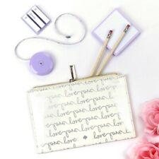 Kate Spade New York Love Script Bridal Pencil Pouch New