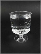 50 Einweg- Weingläser 200ml Weinglas Plastikbecher Plastikgläser Weinbecher 0,2