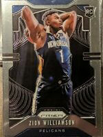 2019 Panini Prizm Zion Williamson Rookie Base Well-Centered #248 Pelicans