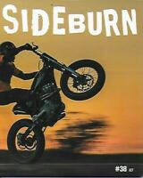 SIDEBURN-Flat Track Magazine No.38 (NEW)*Post included to UK/Europe/USA