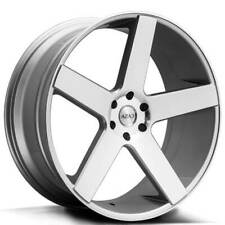 "4ea 22"" Azad Wheels AZ5198 Silver Machined Rims(S4)"