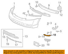 HONDA OEM 09-11 Civic Front Bumper-Spoiler Lip Chin Splitter Right 71116SNEA50