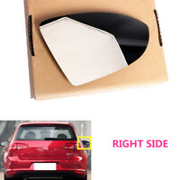 Fit For VW Golf MK7 VII 5G 2014-2019 Right Door Side Wing Mirror Glass Heated