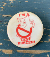 "Vintage ""I'm A Test Buster"" Pin"
