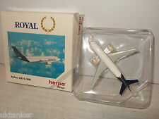 Herpa Wings 501040 Airbus A310-300 for Royal in 1:500 Scale.