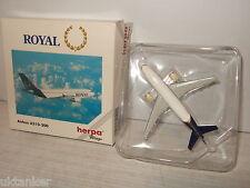 Herpa Wings 501040 Airbus A310-300 de Royal en 1:500 escala.