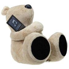 Ours George en peluche avec Haut parleur 2.0 Beige