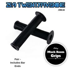 Colony Much Room BMX Grips - BLACK Includes Bar Ends