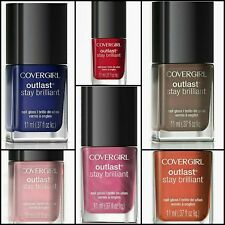 Covergirl Outlast Brilliant Color One Coat Nail Polish - Choose Your Color 💅