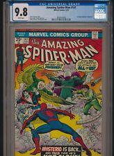 MARVEL COMICS AMAZING SPIDER-MAN #141 CGC 9.8 WP 1st DANNY BERKHART MYSTERIO