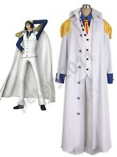 Custom-made One piece Aokiji Kuzan Navy Admiral Uniform Cosplay Costume