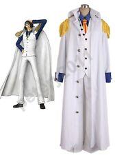 Custom-made One piece Aokiji Kuzan Navy Admiral Uniform Cosplay Costume