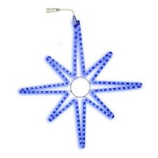 75cm Blue LED Star Silhouette Christmas Rope Light Indoor Outdoor Use
