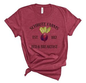 SCHRUTE FARMS Beets Shirt The Office Dwight Tshirt funny saying Unisex tee