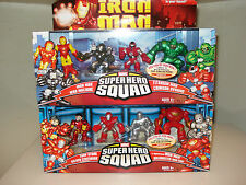 Marvel SuperHero Squad  IRON MAN  FACE OFF 4-PACKS