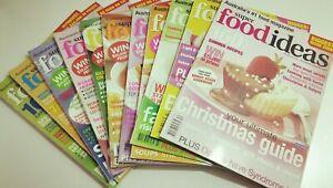 11 x SUPER FOOD IDEAS MAGAZINES - 2003