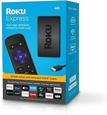 Brand New Roku Express HD Streaming Media Player 2019 3930R