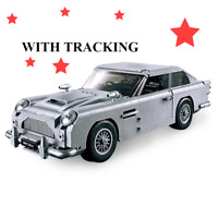 LeGoing 007 James Bond DB5 Classic Car Aston Martin Building Blocks Bricks Sets