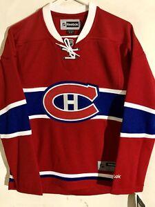 Reebok Women's Premier NHL Jersey Montreal Canadiens Team Red sz s