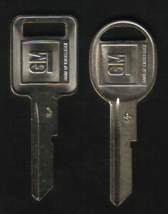 BUICK GS 455 1970 1974 1978 1982 GM J K Key Blanks