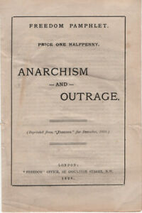 Anarchism and Outrage