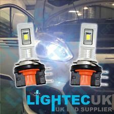 2x H15 Drl Ford Transit Seúl Chip Blanco LED Canbus Error Free Headlight Bulbs