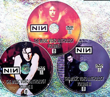 NINE INCH NAILS 50 Music Videos Collection 1989 to 2016 3 DVD Set Trent Reznor