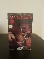 SCARED TO DEATH Beta--Betamax-- MEDIA VIDEO Horror