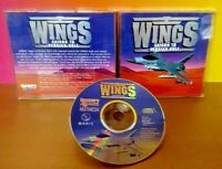WINGS Saigon to Persian Gulf Game  CD ROM -  Tested Complete Mint Disc