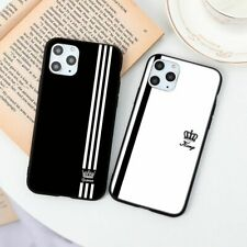 New Fashion Lovers Couple Phone Case King Queen Cover For iPhone SE 2020 XR 11 6