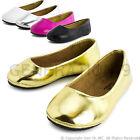 New Toddler Girls Slip On Dance Ballet Dress Flat Shoes Pala (Toddler 5 6 7 8 9)