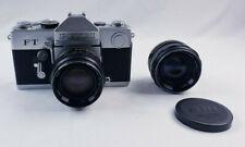 Vintage Petri FT 35mm SLR Film Camera with a Petri 55mm 1:1.8 Lens