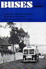Buses Magazine No 173 August 1969 INDEPENDENTS IN CROYDON GUY BUSES