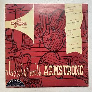 LOUIS ARMSTRONG - JAZZIN' WITH ARMSTRONG - Columbia 33FP1016 OG FR