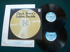 Chuck Berry - Golden Decade UK Vinyl 2 X LP Record  Chess  6641018 M-/M-/VG