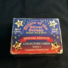 """A 1993 complete factory set: """"Riders of the Silver Screen"""" collector cards(Afrt)"""