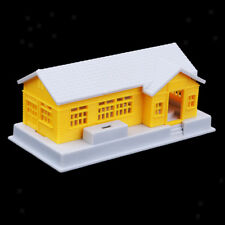 Miniature House HO Scale Model Railway Diorama 1:87 Train Model Building