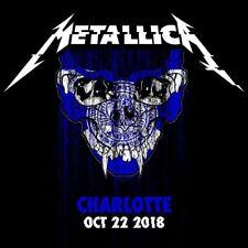METALLICA / World Wired Tour / LIVE /Spectrum Center - Charlotte, Oct. 22, 2018