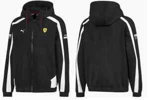 Herren PUMA 'Ferrari' Kapuzenpullover Jacken (596145-02)