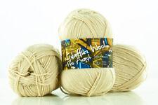 10 x 100g Graffiti Wool Pro Acryl Strickgarn 100% Polyacryl  - beige - by Anune