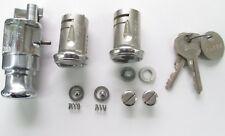 1946 1947 1948 Lincoln Cylinder Set NOS Ignition 2 Doors 2 Original Hurd Keys