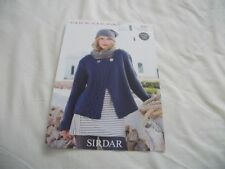 Sirdar Chunky Women Crocheting & Knitting Patterns