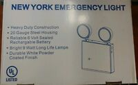 NEW YORK EMERGENCY LIGHT 18 WATT 6 VOLT UNIT NIB