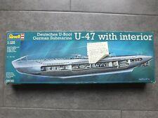 Revell 1:125 Modellbausatz deutsche U-Boot U-47 with interior, Nr. 05060