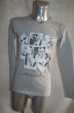TEE  SHIRT  GANGSTER UNIT GU613 NEUF TAILLE S  TOP  PORTRAIT KATE MOSS